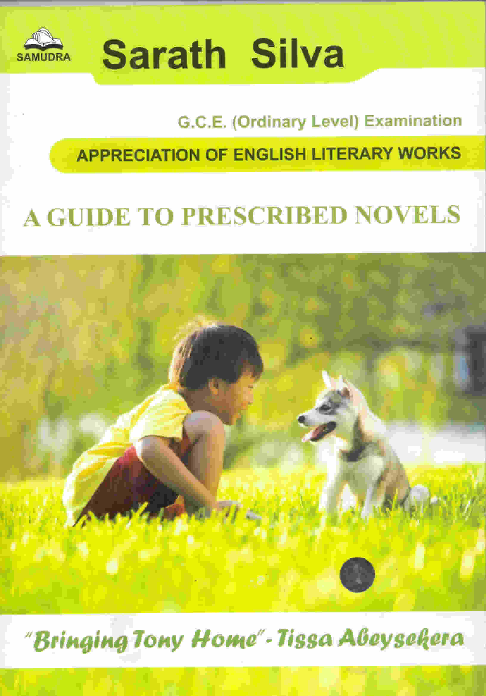 A Guide to prescribed Novels