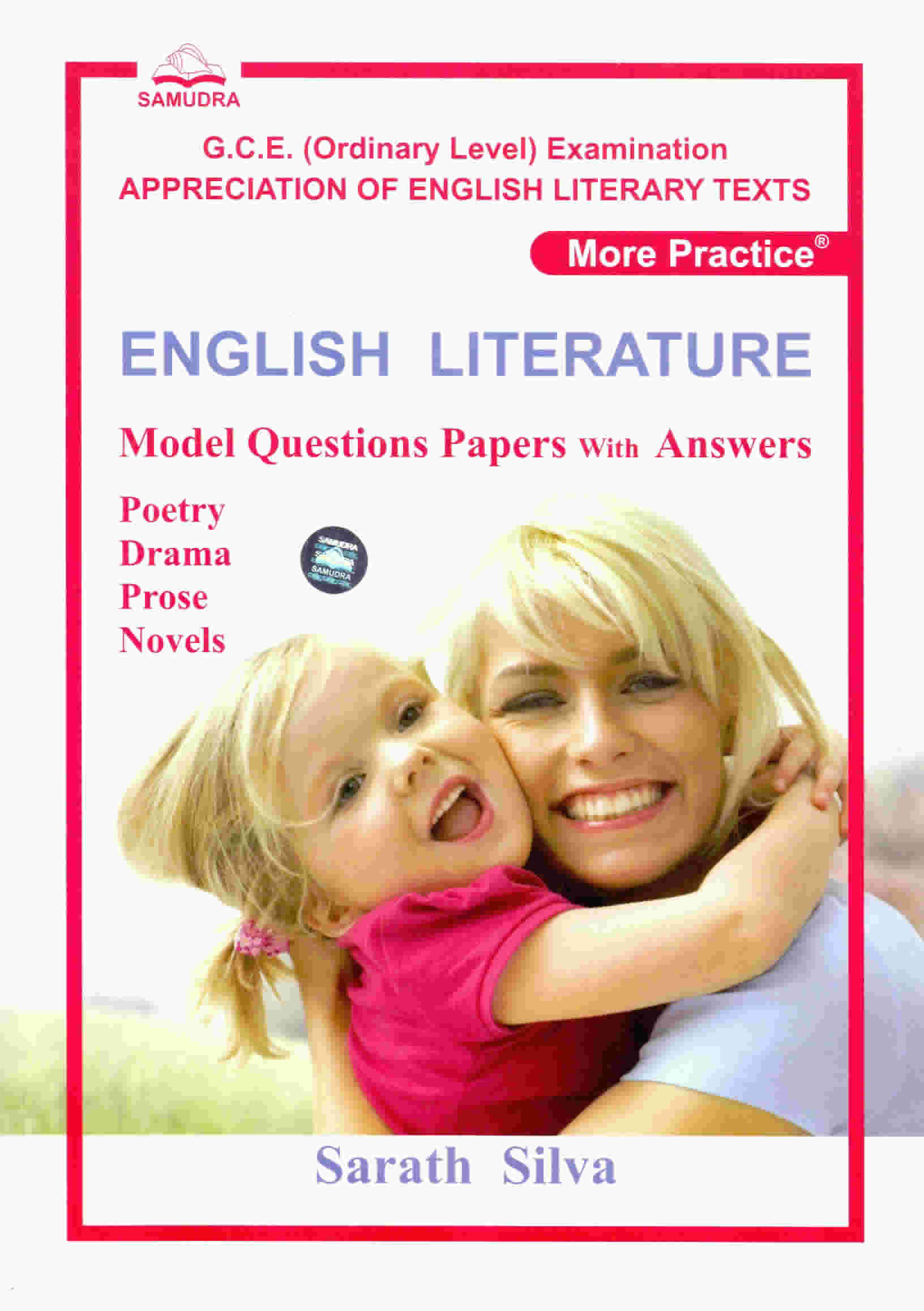 ENGLISH LITERATURE Model Questions Papers with Ans
