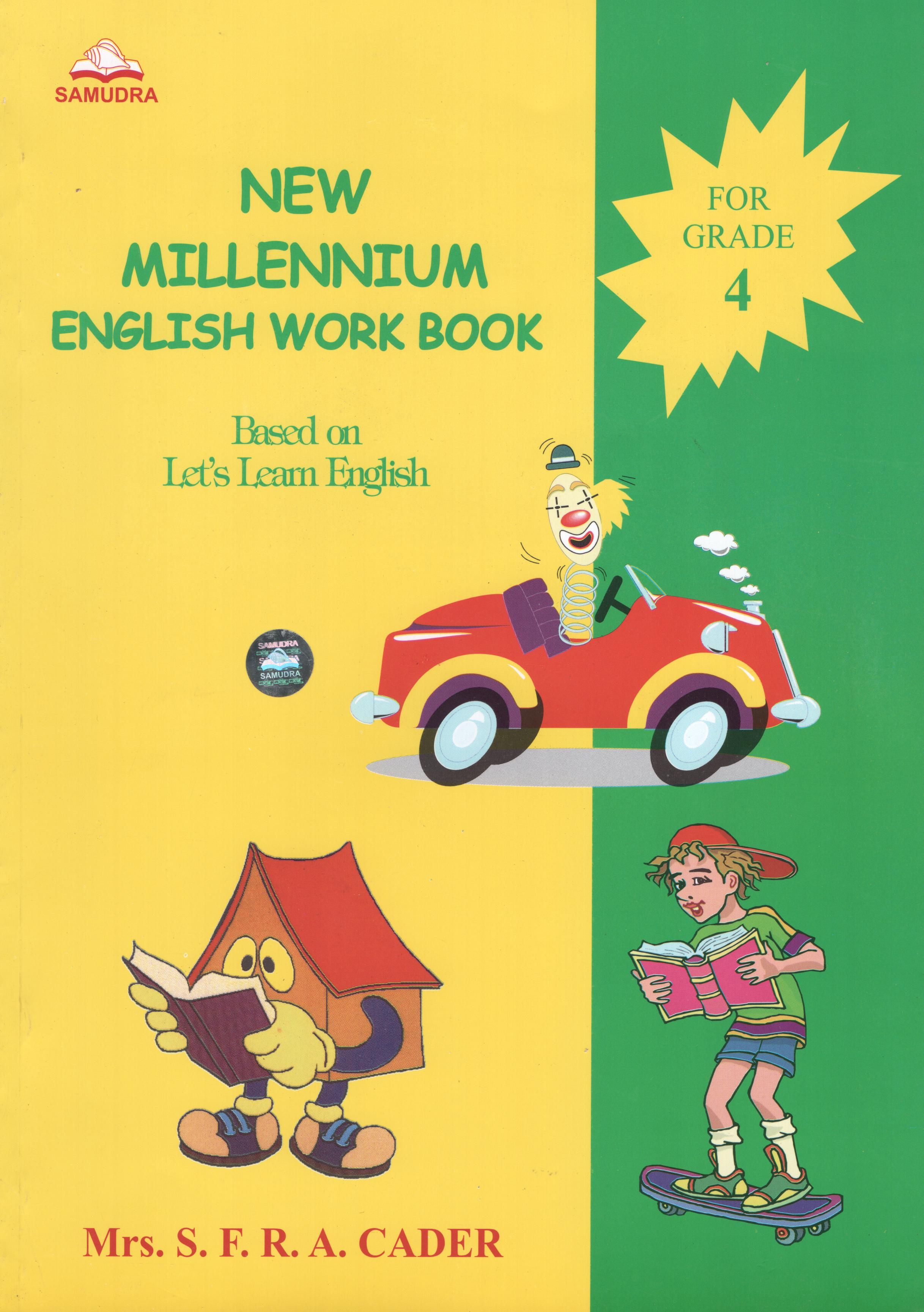 New Millennium English Work Book Grade 4 By SFRA C