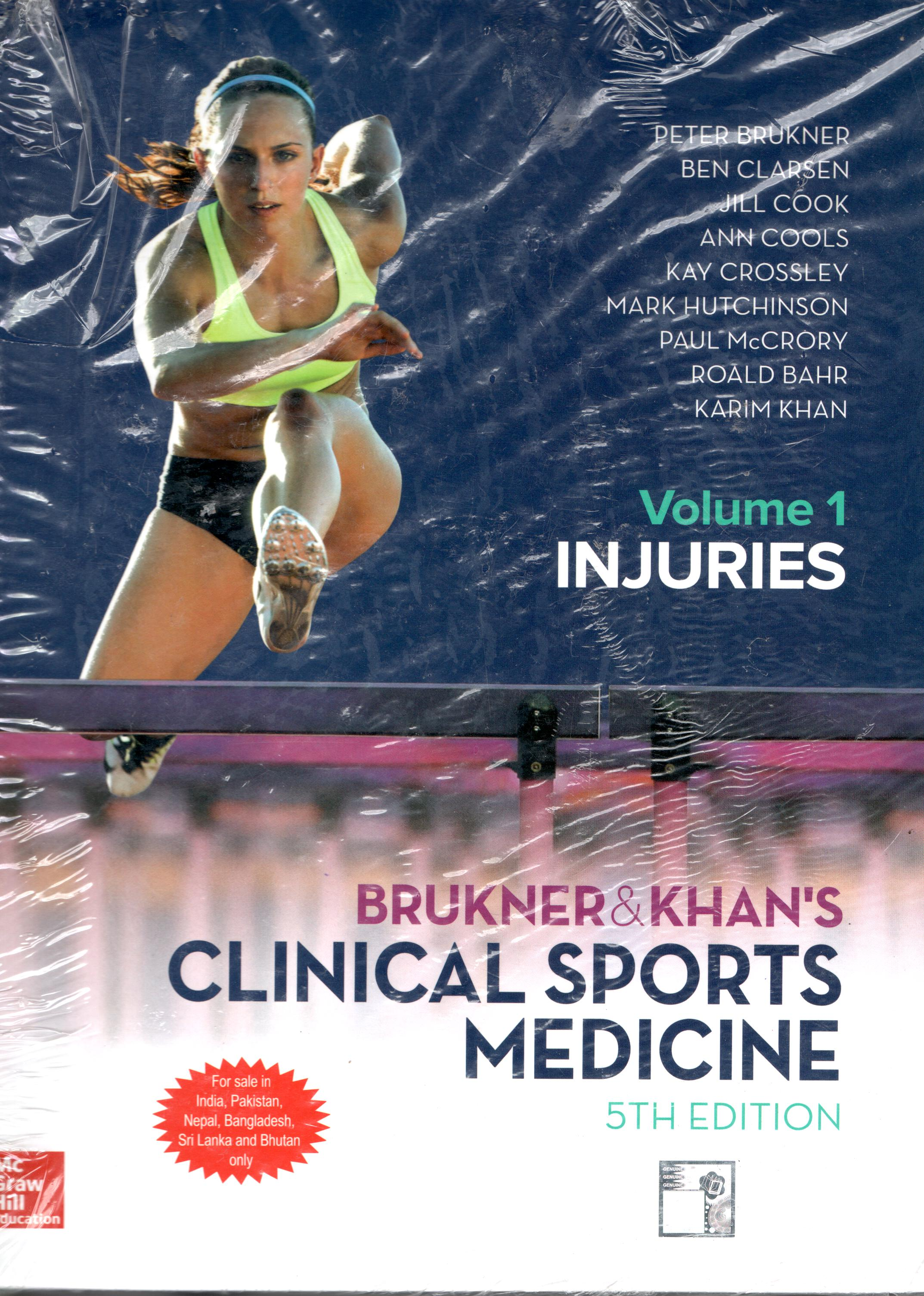 CLINICAL SPORTS MEDICINE VOLUME 1 - 5TH EDITION