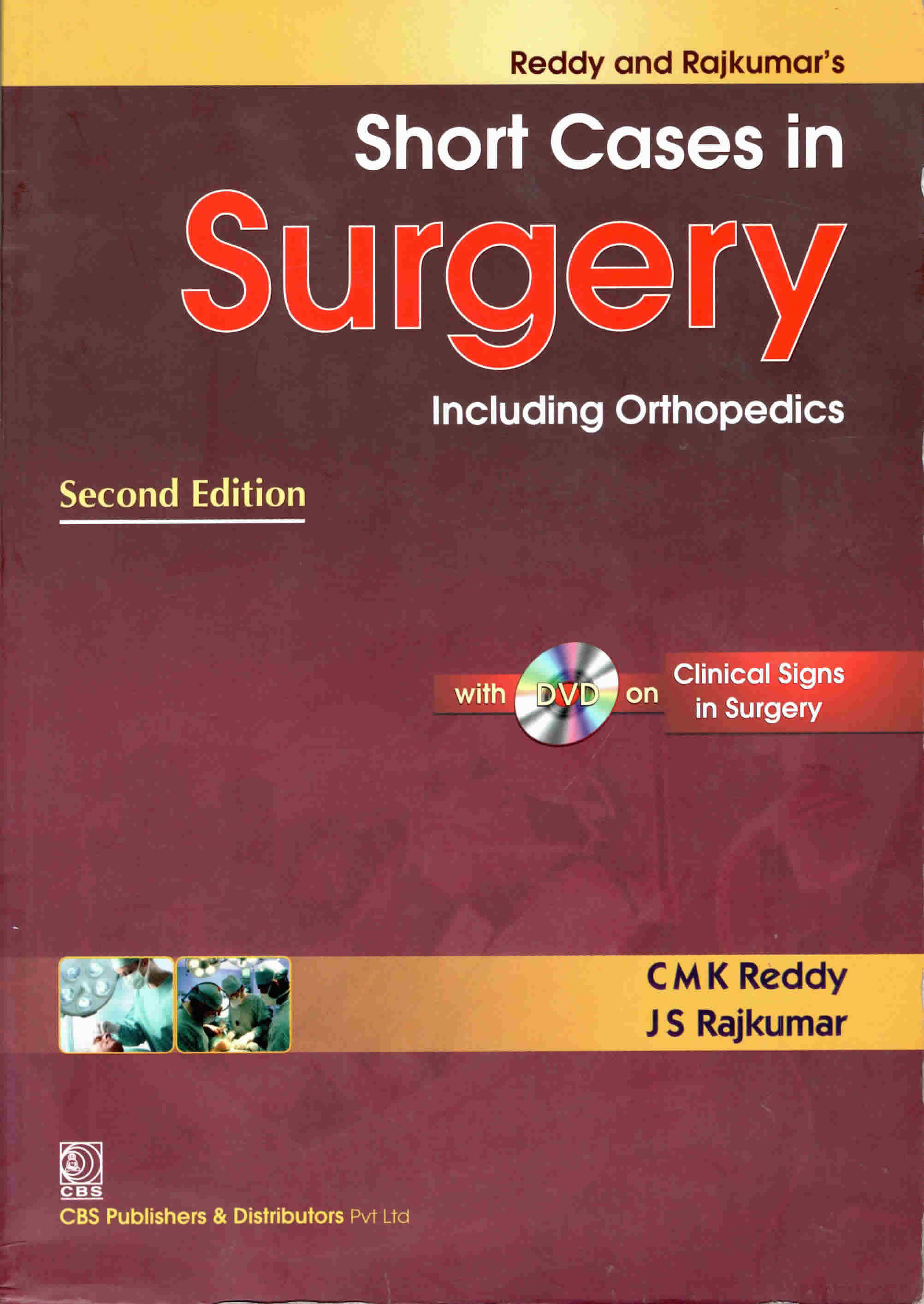 SHORT CASES IN SURGERY-SECOND EDITION