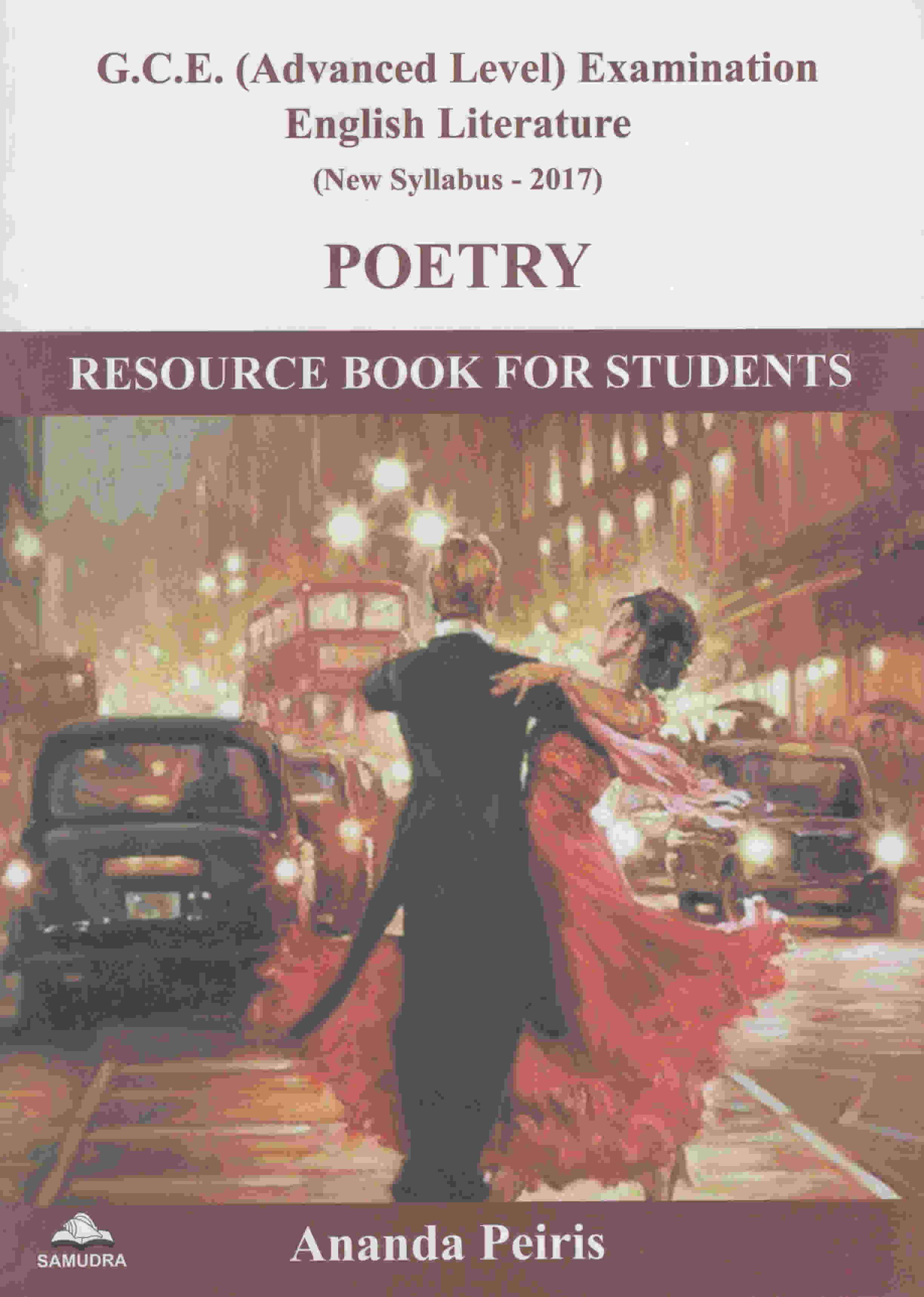 G.C.E. A/L POETRY RESOURCE BOOK FOR STUDENTS