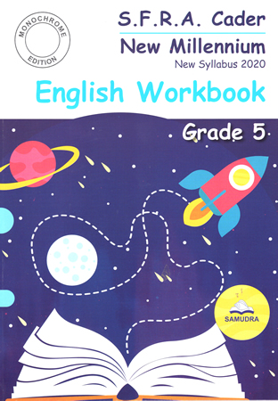 New Millennium English Workbook Grade 05 (New Syllabus - Monochrome Edition)