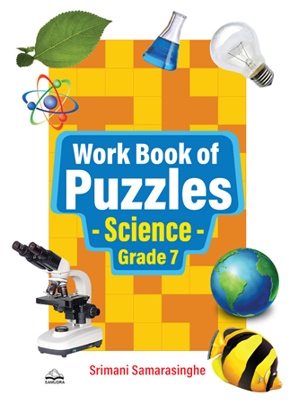 Work Book of Puzzles Science Grade 7