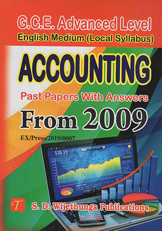 Accounting Past Papers With Answers from 2009
