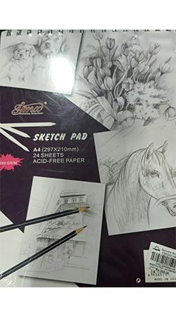 SKETCH PAD - A4 24SHEET 297X210MM