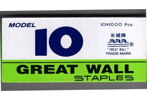 STAPLES PIN - NO 10 - GREAT WALL