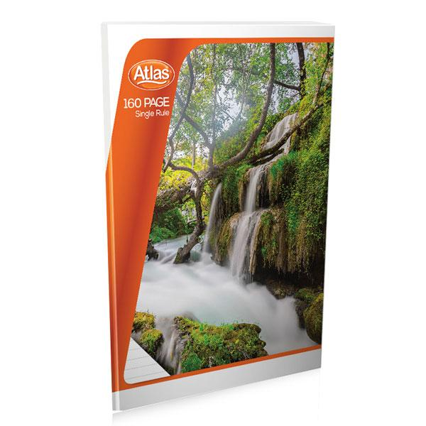 ATLAS SINGLE RULE EXERCISE BOOK 160 PAGES
