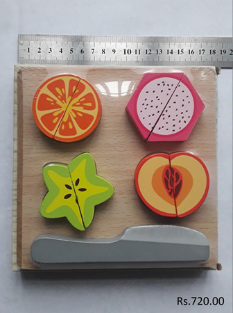 Fruit Cut-Wood Toy