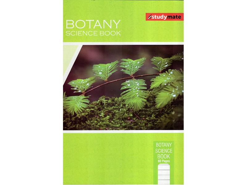 STUDY MATE BOTANY SCIENCE BOOK 80PGS - CR