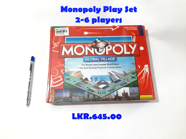 Monopoly Play Set 2-6 Players