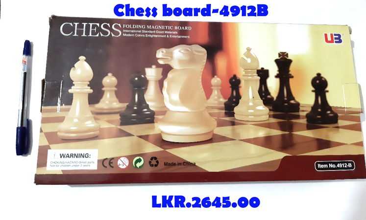 Chess Board - 4912B