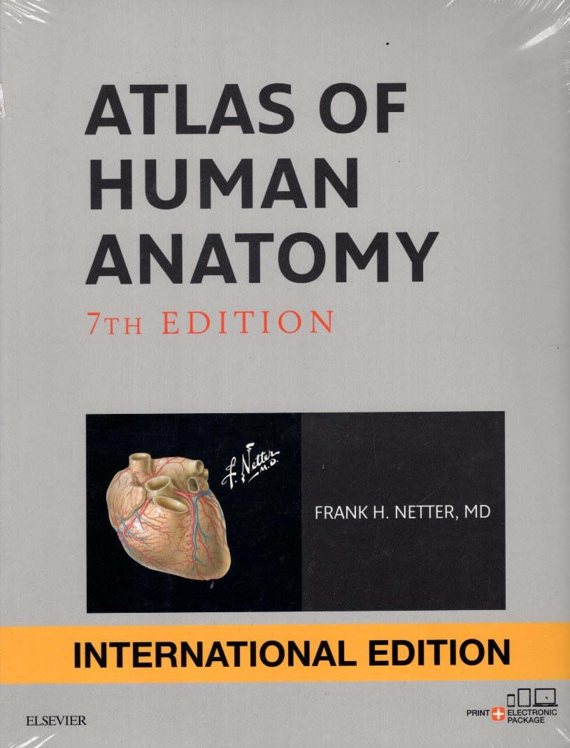 ATLAS OF HUMAN ANATOMY - 7th EDITION