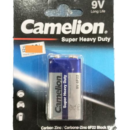 BATTERIES - CAMELION 9V