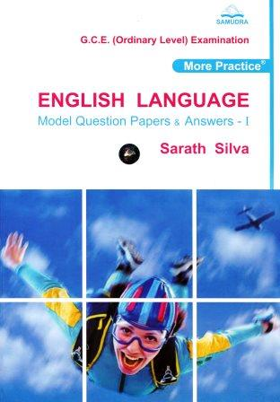 English Language Model Question papers & Answe