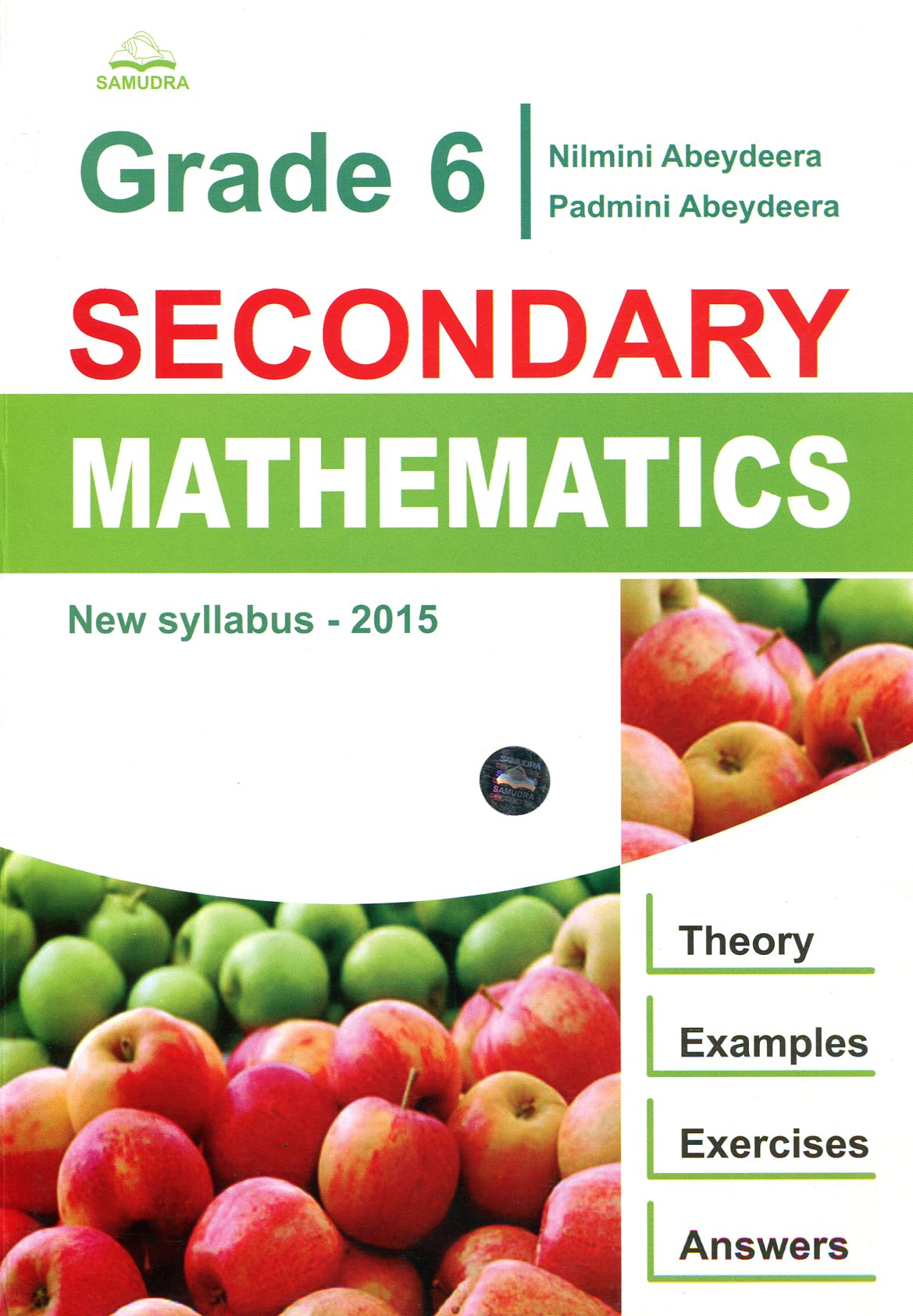 Grade 06 - Secondary Mathematics- New Syllabus bas