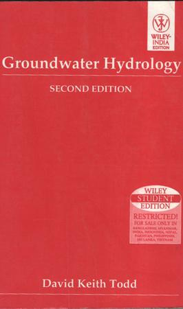 Groundwater Hydrology 2nd Edition