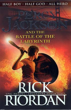 Percy Jackson And The Battle of The Labyrinth.