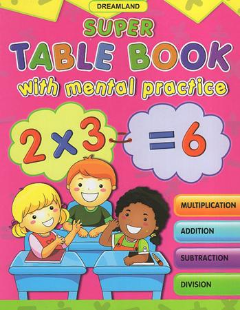 Super Table Book With Mental Practice