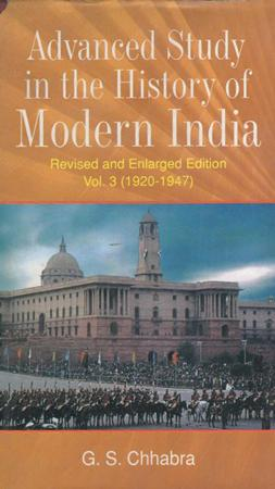 Advanced Study in the History of modern India