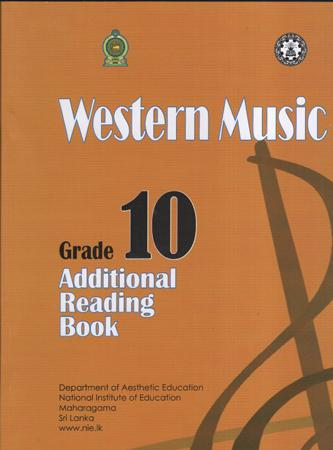 Grade 10 Western Music : Additional reading Book