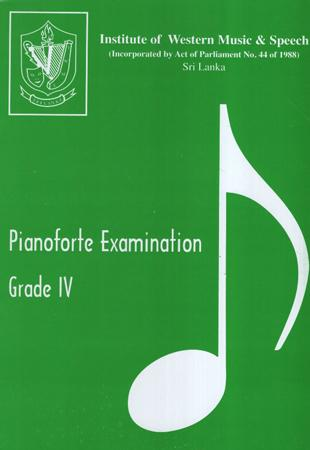 IWMS Pianoforte Examination Grade IV