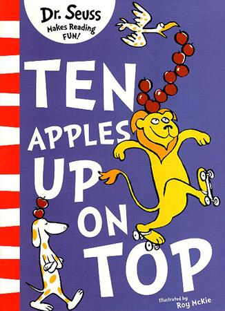 DR. SEUSS MAKES READING FUN BOOK SERIES - TEN APPLES UP ON TOP