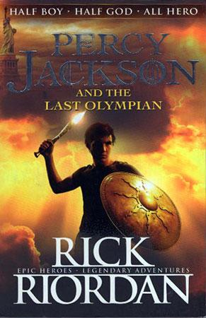 Percy Jackson And The Last Olympian.