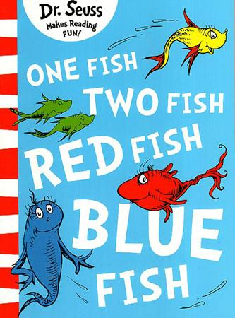 DR. SEUSS MAKES READING FUN BOOK SERIES - ONE FISH, TWO FISH, RED FISH, BLUE FISH