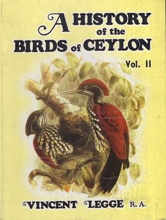 A HISTORY OF THE BIRDS OF CEYLON - VOL.2