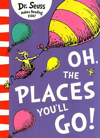 DR. SEUSS MAKES READING FUN BOOK SERIES - OH THE PLACES YOU'LL GO !
