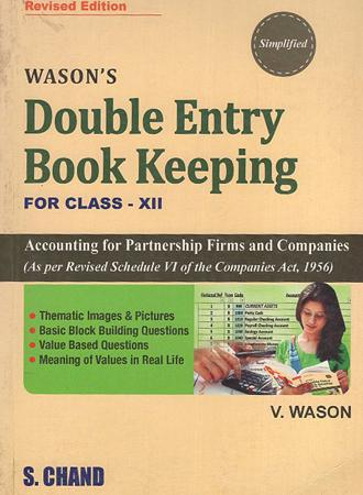 Double entry Book Keeping For Class XII