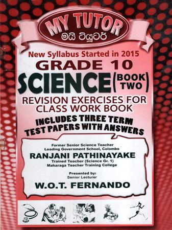 Grade 10 Science Book 2 : Revision Ex - My Tutor