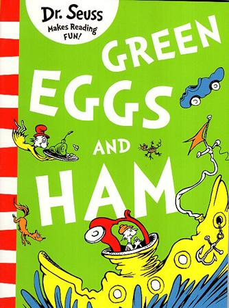 DR. SEUSS MAKES READING FUN BOOK SERIES - GREEN EGGS AND HAM