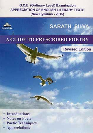A Guide to Prescribed Poetry