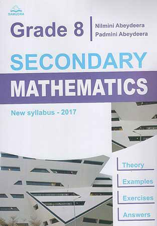Grade 8 Secondary Mathematics