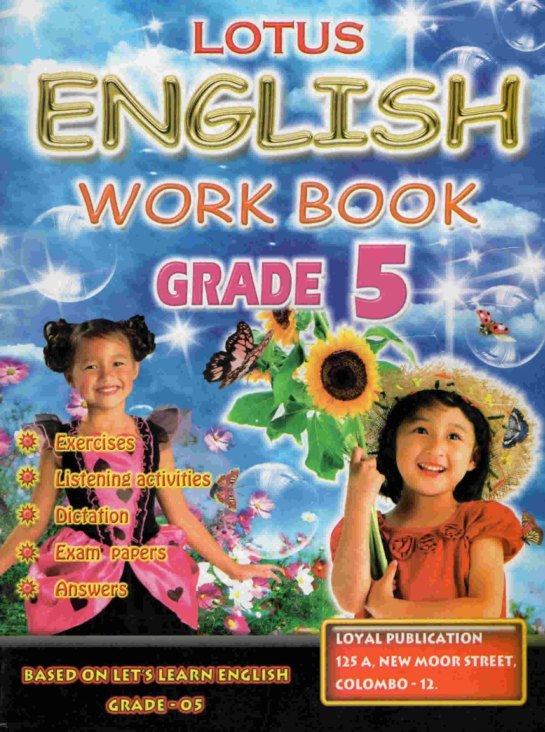 Lotus English Workbook Grade 05